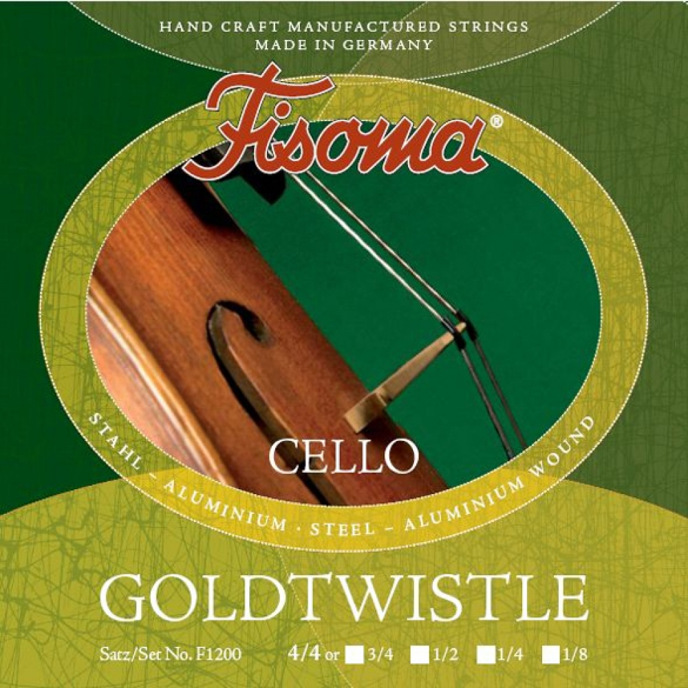 Cello Strings SET PYRAMID Gold 4//4 Cello Saiten SATZ in 5 Größen