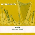 PYRAMID Aluminium Cello Saiten SATZ